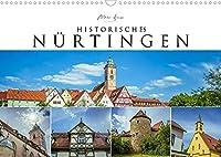 Historisches Nuertingen 2022 (Wandkalender 2022 DIN A3 quer): Die mittelalterliche Stadt am Neckar (Monatskalender, 14 Seiten )