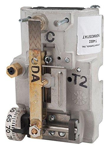 Johnson Controls T-4002-9008 Pneumatic Thermostat, DA, 55 to 85 Degree F