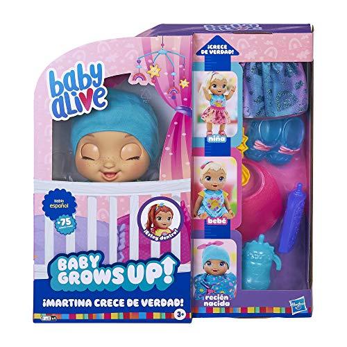 Baby Alive- Martina Crece de Verdad (Hasbro E8199SC1)