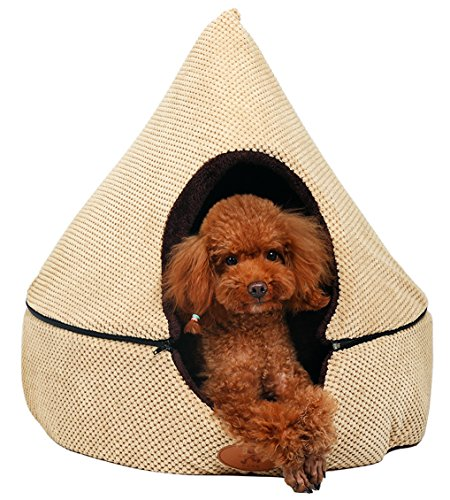 5. PLS BIRDSONG Pointy Cave Dog Bed