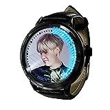 BTS Bangtan Boys KPOP Gift Reloj Led Impermeable Pantalla táctil Reloj de luz Digital Reloj Unisex Regalo de cumpleaños Edición de coleccionista