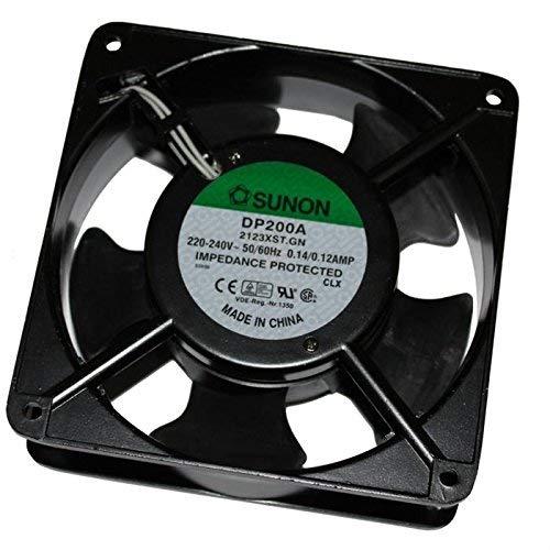 Sunon DP200A2123XST - Ventilador (120x120x38mm, CA 230V,