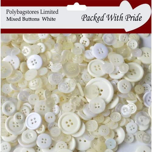 Job Lot Of New Buttons 100 Grams Mixed