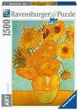 Ravensburger Puzzle 1500 Piezas, Los girasoles - Van Gogh, Puzzle Van Gogh, Puzzle Arte, Puzzle para Adultos, Rompecabezas Ravensburger de óptima calidad