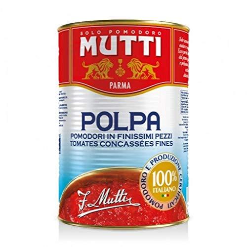 48x Mutti polpa di Pomodoro Tomatenpulpe Tomaten sauce 100% Italienisch 400g dose
