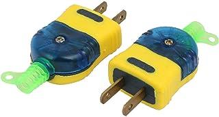 X-DREE 2pcs Blue Yellow Housing 2 Pin Power Adapter 220V For AU 16A 400W US AU Plug (6a83c9c2-a222-11e9-8d7c-4cedfbbbda4e)