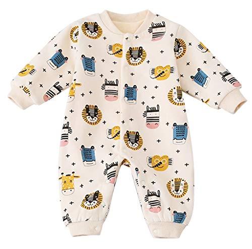 DEMU unisex baby romper overall jumpsuit kleine kinderen bodysuits outfits eendelig slaaptramper