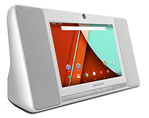 Prixton Minicadena TM100 - Tablet de 7' (WiFi, Bluetooth, QuadCore AllWinner A33, 1 GB de RAM, 8 GB de Memoria Interna, Android 5.0) Color Blanco