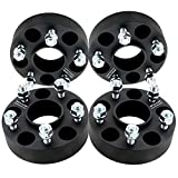 DCVAMOUS 5x4.5 Hubcentric Wheel Spacers Compatible with Nissan Infiniti 5 Lug, 4pc 1.5' with 12x1.25 Studs for 370Z Altima Sentra Maxima Murano Quest Rogue,G37 M35 M45 Q45 Q50 Q60 Q70 QX50 QX60 QX70