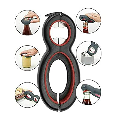 Six In One Multi-function Can Opener Plastic Bo...