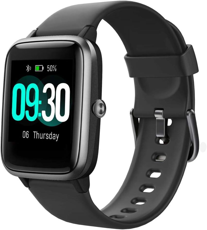 Willful Smartwatch,1.3 Zoll Touch-Farbdisplay Fitness Armbanduhr mit Pulsuhr Fitness Tracker IP68 Wasserdicht Sportuhr Smart Watch mit…