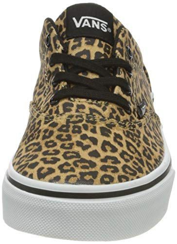 Vans Doheny, Scarpe da Ginnastica Bambina, Cheetah Black/White, 18 EU