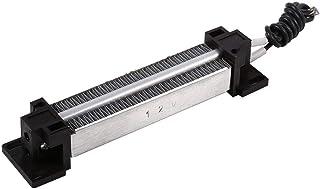 Zetiling Elemento Calefactor para Secadora, Calentador Espacial PTC de 200 W con termostato de cerámica con Aislamiento eléctrico de Alta Potencia(24V)