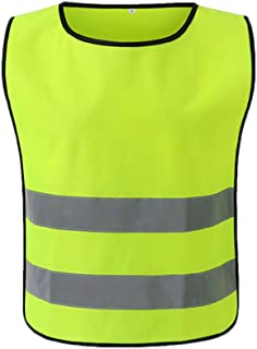 Extaum Reflective Vest Security Clothing Workwear Working Clothes Safety Waistcoat Day Night Motorcycle Cycling Warning Ro...