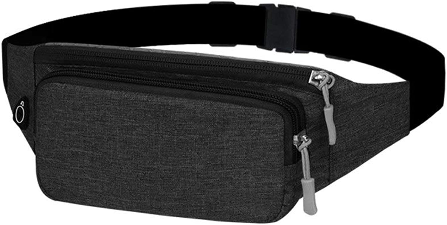 FH Pocket, 2in1 UltraThin Waterproof Pocket Travel Bum Bag Running with Travel Bike Hiking Camping, Suitable for Screens Below 6.4 Inches
