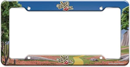 Graphics and More The Wizard of Oz Ruby Slippers Logo License Plate Tag Frame