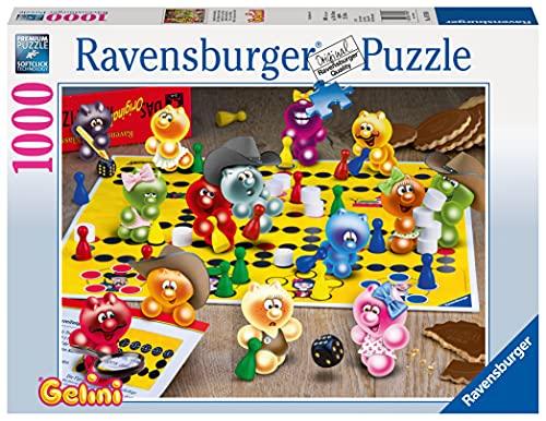 Ravensburger Puzzle 19795 - Spieleabend bei den Gelini - 1000 Teile
