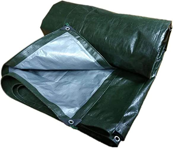 YHUJH Tissu imperméable à la Pluie, écran Solaire imperméable à l'eau (Taille   6  8m)