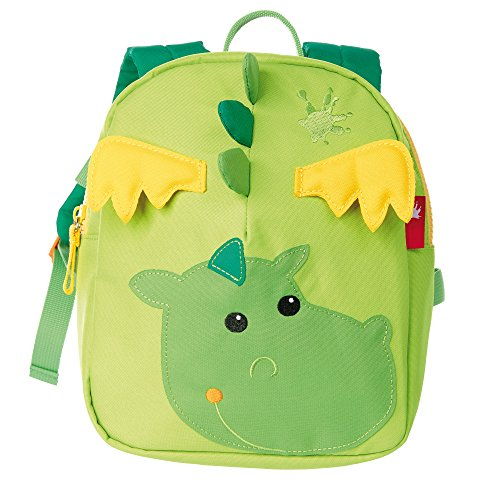 Sigikid 24220Zainetto da bambino/bambina, verde/giallo (verde) - 24216