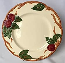 Franciscan 1940-1947 Made in California Hand Decorated Backstamp Apple Pattern 9 5/8