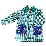 KLOTTZ - BABI SPIDERMAN MANDILON GUARDERIA Niñas color: VERDE talla: 5