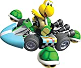 7 Inch Koopa Troopa Super Mario Wii Kart Removable Wall Decal Sticker Art Nintendo Home Decor - 7 by 6 inches