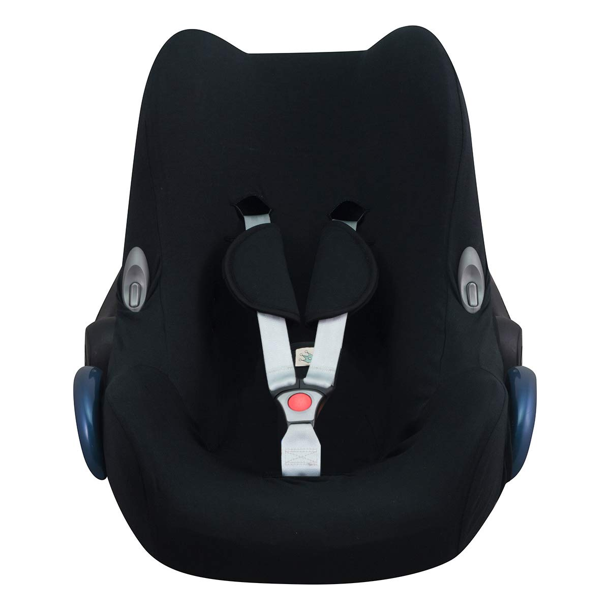 JANABEBE Cover Liner Compatible with Maxi COSI Cabriofix, City, Streety Fix (Black Series)