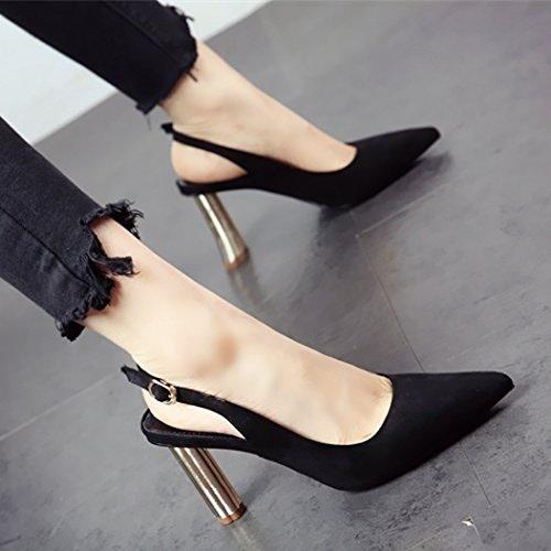 YMFIE Style européen Ladies' Sandales Printemps été a Fait des Chaussures à Talon Haut Chaussures Unique.