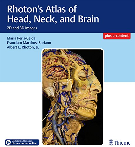 Rhoton's Atlas of Head, Neck, and Brain: 2D and 3D Images (English Edition)