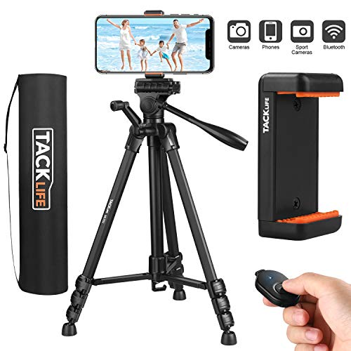Lightweight Portable Tripod Up to 60″ w/ Maximum Load 5KG -$22.50(68% Off)