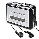 DIGITNOW! Portable de Cassette Audio à MP3 convertisseur avec écouteurs CD...