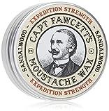 CAPTAIN FAWCETT Cera de bigote extra fuerte Sándalo 15 ml 400 g