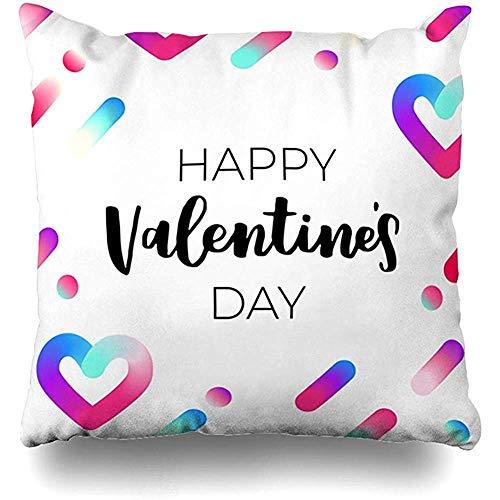 Imodest kussenhoezen neon roze gevlochten dynamisch valentijn album blanco boekje catalogus kussensloop 45 x 45 cm kussensloop set van 2