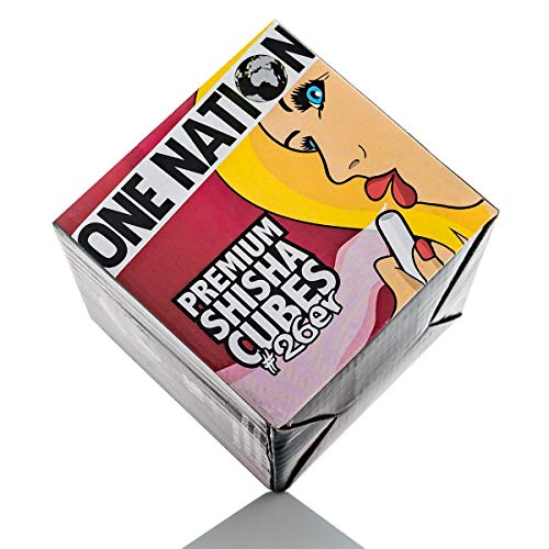 One Nation Premium Shisha Cubes #26er 1kg