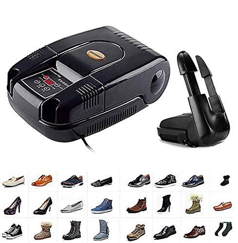 LIANYANG Sèche-Chaussures Sèche-Chaussures Sèche-Chaussures Sèche-Chaussures électrique Chauffe-Botte,Désinfection à l'ozone ionique négative,évolutive et réglable,Fonction de chronométrage