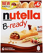 Nutella Ferrero B-Ready with ChoocKick Eco Friendly Pen, 132 g, Free ChocoKick Eco Friendly Pen