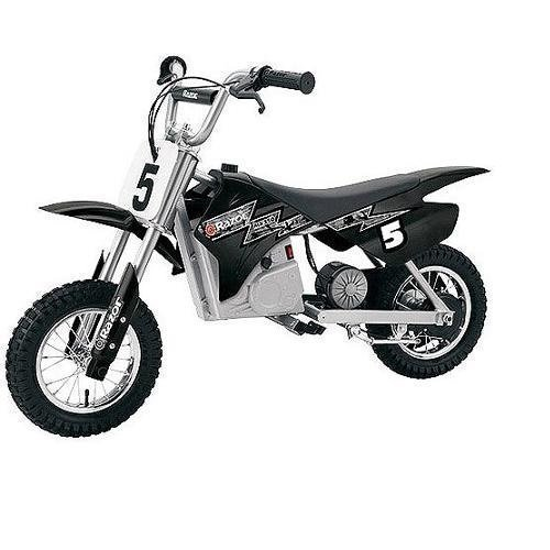 Razor MX350 Dirt Rocket Electric Motocross Black/White Camo