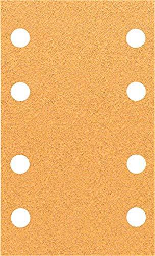Bosch Professional Schleifblatt für Schwingschleifer Holz und Farbe Best for Wood an Paint (10 Stück, Körnung 60, C470)
