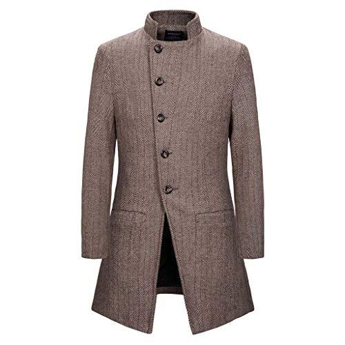 ღJiaMeng Freizeit Windjacke Slim Fit Mantel Sweatshirts Warm Halten Pullover Langarm Patchwork Farbe Trim Outwear Jacke