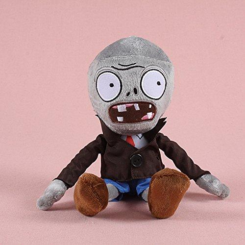 TavasHome Plants vs Zombies 2 PVZ Figures Plush Baby Staff Toy Stuffed Soft Doll 13cm-35cm Soft PP Cotton (Zombie)