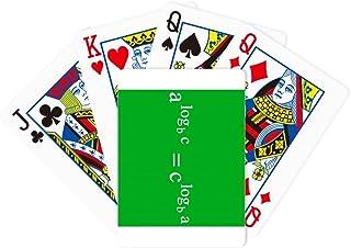 Mathematical Formula Expressing Computational Equivalence Poker Playing Magic Card Fun Board Game
