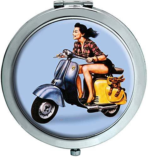 Iso Scooter Espejo Compacto