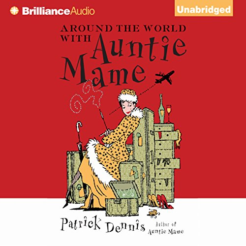 Around the World with Auntie Mame audiobook cover art