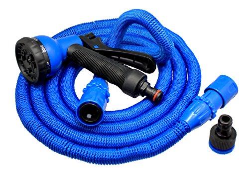 Xpansy Hose Pro C2607B Manguera Extensible con la Presión del Agua, Azul, 7,5 metros