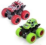 SSB WHOLESALE & RETAIL ® Push Go 4-Wheel Drive Inertia Friction Powered Monster Truck Pull Back...