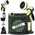 Umirokin 50ft Expandable Garden Hose,Flexible Water Hose with 9 Function Nozzle