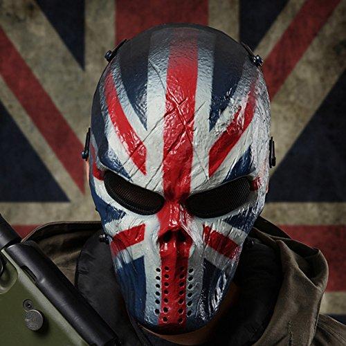 Draht Masche Goldene Terminator T800 Vollständige Gesicht Sicherung Maske für Airsoft Taktisches Halloween Paintball BB Gewehr CS Krieg Spiel Cosplay Außen Jagd
