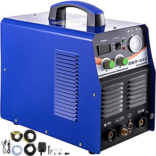 VEVOR Plasmaschneider WIG-Schweißgerät CT312 MMA Lichtbogen 3 in 1 Kombischweißgerät Plasma Ausschnitt Maschine