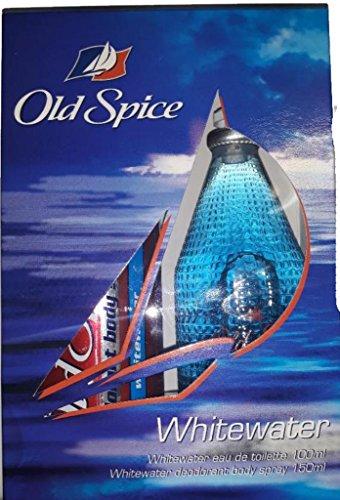 OLD SPICE WHITEWATER COLONIA 100 ML Y DESORANTE SPRAY 150 ML