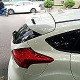SXRKRZLB Alerón Trasero de ala ABS para Maletero, Estilo de Coche para Ford Focus 2012-2017 Blanco